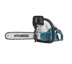 Бензопила Hyundai X 360, 2.3 л.с., шина 35 см, вес 4.6 кг.