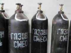 Баллон углекислотный (смесь) 40 литров