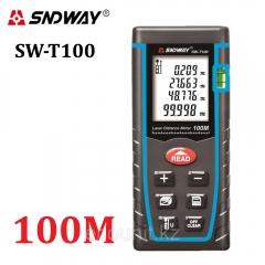 Лазерный дальнометр, рулетка SNDWAY SW-T100, до 100м