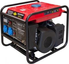 Однофазный бензиновый генератор инверторного типа DDE GG3300Zi - 3,2 кВт